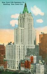New York Life Insurance Company Building, New York City (Thomas Hawk) Tags: america manhattan nyc newyork newyorkcity newyorklife newyorklifeinsurancecompanybuilding usa unitedstates unitedstatesofamerica vintage architecture postcard fav10
