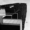 NY pRimE tiMe .. 18! (m_laRs_k) Tags: jetset nyc architexture iphone primetime prime monochrome monotone noir schwarzweiss airliner jet plane skyscraper flat