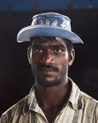Indian Fisherman (Sharpshooter Alex) Tags: indian india fisherman hat man male asia travel