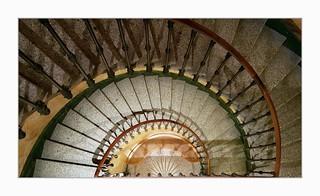 Hermitage stairwell