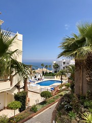 Time to relax (just Albin) Tags: sky iphonex sunshine sun pool beach marbella spain holiday