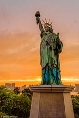 Statue of Liberty (eliseteshiraishi) Tags: continentedaásia japan landscape statueofliberty tokyo tóquio tóquiocapital colorful daytime geraldeentretenimento japanesestyle japão nature outdoor postcard sky travel traveldestination trees urbanlandscape minatoku tōkyōto monumentochamadaliberdade