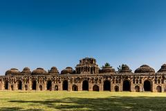 Horse Stables (Padmanabhan Rangarajan) Tags: hampi karnataka india architecture