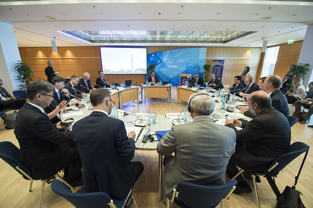 The Ministers' Roundtable in session