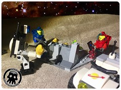 48-28 Extracting Minerals (captainmutant) Tags: afol classic space lego ideas legospace legography photography minifig minifigs minifigure minifigures moc sciencefiction science fiction scifi exploration brickography toy custom