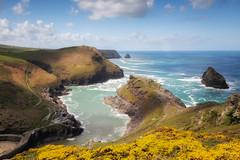 Boscastle (Rich Walker75) Tags: boscastle cornwall landscape landscapes landscapephotography canon sea seascape ocean village harbour cliffs water blue hill sky eos eos80d efs1585mmisusm england