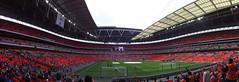 Wembley Panoramic (lcfcian1) Tags: tottenham hotspur leicester city thfc lcfc wembley stadium spurs london stadia ground epl bpl footy football england sport uk premier league last day tottenhamhotspur leicestercity tottenhamvleicester