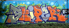 graffiti and streetart in Amsterdam (wojofoto) Tags: graffiti streetart amsterdam nederland netherland holland wojofoto wolfgangjosten ndsm sniper