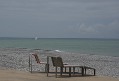 relaxing (=Mirjam=) Tags: nikond750 batumi blacksea georgia 52weeksof2018 7continents chairs beach empty sail roadtrip beachtime travels mei 2018