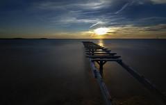 Per embarcar cap el sol ponent, DSC_6025 a _6028_Formentera (Francesc //*//) Tags: embarcadero jetty jetée sunset coucherdusoleil puestadesol capvespre horitzó horizon horizonte paisaje paisatge landscape paysage formentera mar sea cielo ciel cel heaven