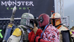 Puerto Rico Comic Con 2018 (Agentex) Tags: comic convention puerto rico 2018 comics cartoons anime deadpool boba fett star wars bounty hunter mandaloria mandalorian face off dead pool armor mask cosplay costume costumed player comiccon comicon