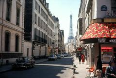 Tour Eiffel (Bill in DC) Tags: france paris 1977 film ektachrome64 canonae1 35mm