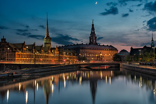 Christiansborg - Blue hour