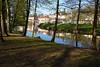 Franconian Saale in Bad Kissingen (stanzebla) Tags: franconiansaale fränkischesaale saalefranconienne rivers reflexion reflections