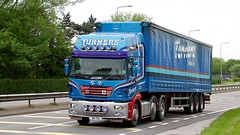 M4 THL (Martin's Online Photography) Tags: erf ecx truck wagon vehicle freight haulage commercial transport a580 lorry leigh lancashire nikon nikond7200