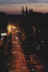 BURGOS © Quique Ugarte-1 (Quique Ugarte) Tags: burgos catedral calle vitoria street urban longexposure largaexposicion ligths city spain