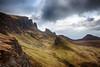 Quiraing (Mister Oy) Tags: scotland visitscotland quiraing ridge mountain skye isle nikond850 nikon2470mmf28afs landscape scenery clouds peaks