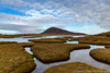 Saltings (sarahOphoto) Tags: salt flats ceapabhal hill inlets saltings an taobh tuath northto isle harris outer hebrides scotland scottish water reflection sky clouds countryside nature landscape canon 6d uk united kingdom tidal