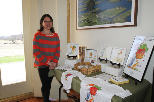 Anne Mottola and her books for young gardeners