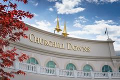 Churchill Downs (psmithusa) Tags: churchilldowns kentuckyderby runfortheroses churchill downs kentucky derby roses triplecrown triple crown horse racing track