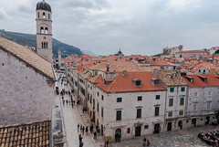 DSC_0005 (paveldobrovsky) Tags: 2018 dubrovnik adriatic ancient architecture attraction bell bricks building cathedral christianity church city croatia day destination europe famous heritage historic history house houses landmark medieval monument old religion roofs rooftop stone stradun stronghold summer tourism tourist tower town travel unesco vacation view