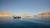 The Big Blue (Doug.King) Tags: sea seascape boat cruise remote mussandam oman blue cliffs coast dhow arabic