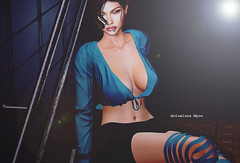 # 111 (dolceluna_myoo Photographer) Tags: photo pictures bento maitreya catwa scandalize mesh shadows secondlife sl avatar sensual outfit cigarette opted cathya