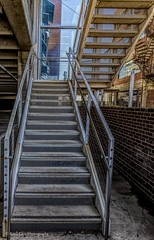 One Flight Up! (Kool Cats Photography over 10 Million Views) Tags: structure streetphotography stairs architecture hdr up structures steps railing oklahoma