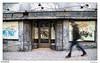 Walker (Raul Kraier) Tags: street chiado lisbon lisboa portugal walker canon6dmarkii canon shop closed abandoned graffiti man guy slow window door entrance canonef24105mmf4l motion