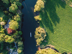 River Ouse (Matthew-King) Tags: york aerial photography drone dji phantom river ouse boat