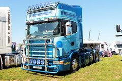 MRM European Logistics Scania V800MRM Peterborough Truckfest 2018 (davidseall) Tags: mrm european logistics ltd scania vabis v8 v800mrm v800 lorry tractor unit artic large heavy goods vehicle lgv hgv topline peterborough truckfest may 2018 truck