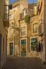 the streets of Lisbon (hph46) Tags: lissabon portugal lisboa street houses narrow pavement doors colours sony alpha7r canonef2470mmf14lisusm