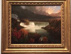 1-4 Thomas Cole at the Met (MsSusanB) Tags: cole niagara falls thomascole metropoltanmuseum metmuseum painting art exhibition nyc newyork hudsonriverschool landscape