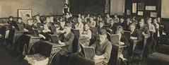 Classroom (monique.m.kreutzer) Tags: school classroom students books teacher desks 1915 education studying learning children