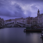 Venetian paths 88(Sunrise on Rialto bridge) thumbnail