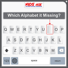 Which Alphabet it Missing (KidsAge) Tags: missingletter kidsage puzzle puzzles puzzleoftheday like best keyboard