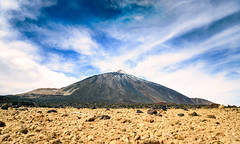 Volcano (Rico the noob) Tags: dof bokeh d850 2470mm desert nature mountains outdoor 2470mmf28 clouds travel published 2018 tenerife landscape teneriffa snow sky mountain