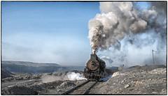 Hauling Pay Dirt (Welsh Gold) Tags: js locomotive sandaoling open cast coal mine xinjiang province china