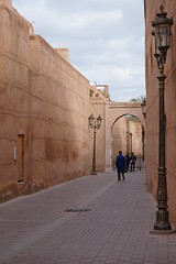 Kasbah, Marrakech, Morroco (mattk1979) Tags: marrakech morroco arab northafrica sun outdoors sky clouds city buildings old historic gate kasbah