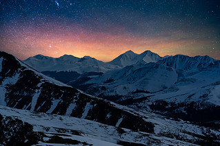 Grays and Torreys at Night