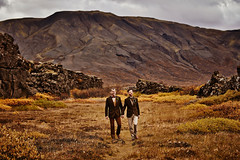 Alex & Brian (LalliSig) Tags: wedding photographer iceland þingvellir people portrait portraiture autumn october