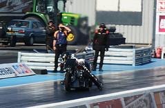 Rocket 3 _8608 (Fast an' Bulbous) Tags: drag race bike track biker motorcycle fast speed power acceleration santa pod nikon