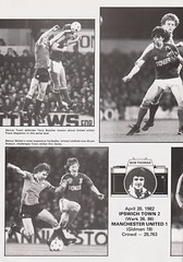 Ipswich Town vs Middlesbrough - 1982 - Page 6 (The Sky Strikers) Tags: ipswich town middlesbrough portman road football league division one official match day magazine 35p