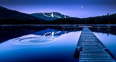 Blue dawn at Lost Lake - 20180502 Lost Lake DSCF4669-Edit.jpg [Explored] (PowderPhotography) Tags: 2018 sunrise nature dawn mountains moon lake britishcolumbia blue dock powderphotography ripples outdoors canada lostlake may whistler water