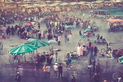Place Jemaa el-Fna, Marrakech (Julien CHARLES photography) Tags: africa afrique afriquedunord jemaa maroc marocco marrakech morocoo médina nd1000 placejemaaelfna unesco elfna filter ghost longexposure nd ndfilter placedestrépassés poselongue المغرب جامعالفنا مراكش