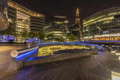 Shard London (babell4321) Tags: shard scoop longexposure beverleybell 2018 londonbuildings londonlandmarks riverside architecture nightphotography recent lights london