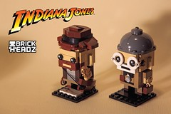 Indiana Jones BrickHeadz