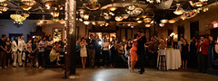Raquel and Maxi (WayneToTheMax) Tags: tango houston bar ballroom dance crowd fans perform antique nouveau texas nikon d750