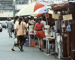 Shopping (Beegee49) Tags: market stall clothes street bacolod city philippines