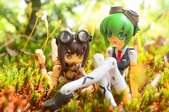 BOB_1159 (AeroHail) Tags: busoushinki pomock maochao toyphotography busou shinki mms 武装神姫 マオチャオ ポモック セット プロトタイプバージョン proto moss